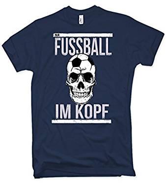 Fußball Im Kopf Shirt für Helden
