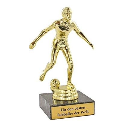 Personalisierbares Fussball Geschenk für Fussballer.